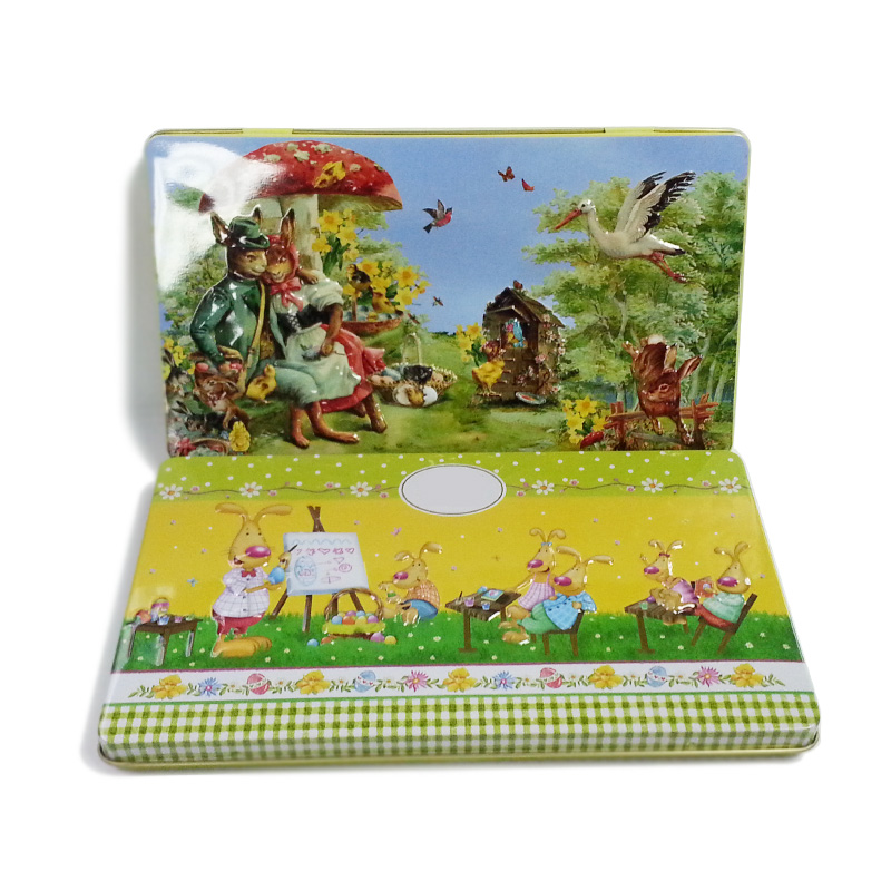 Easter tin boxes