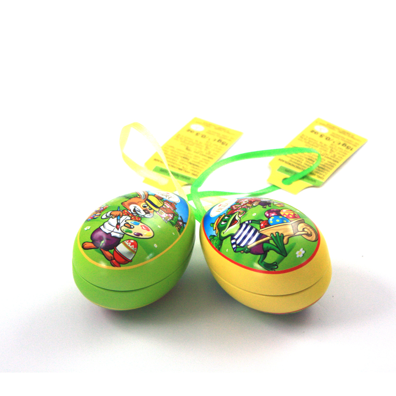 Easter egg tin boxes