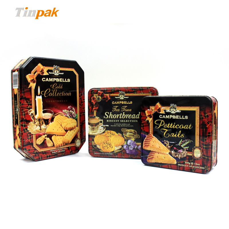 decorative cookie tins