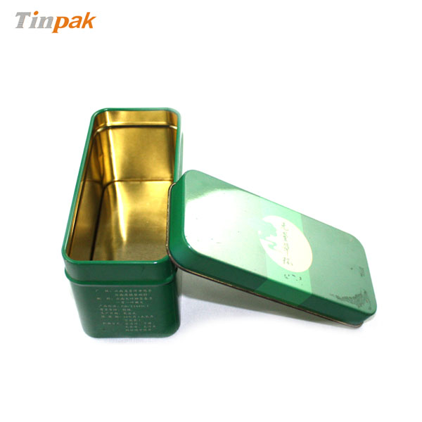 custom tea bag canister metal tins