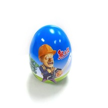 egg shaped candy tin box