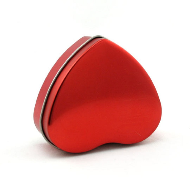 metal heart tins for gift packaging