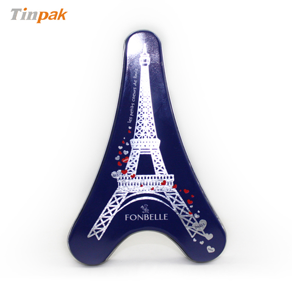 Eiffel Tower Tin for chocolate