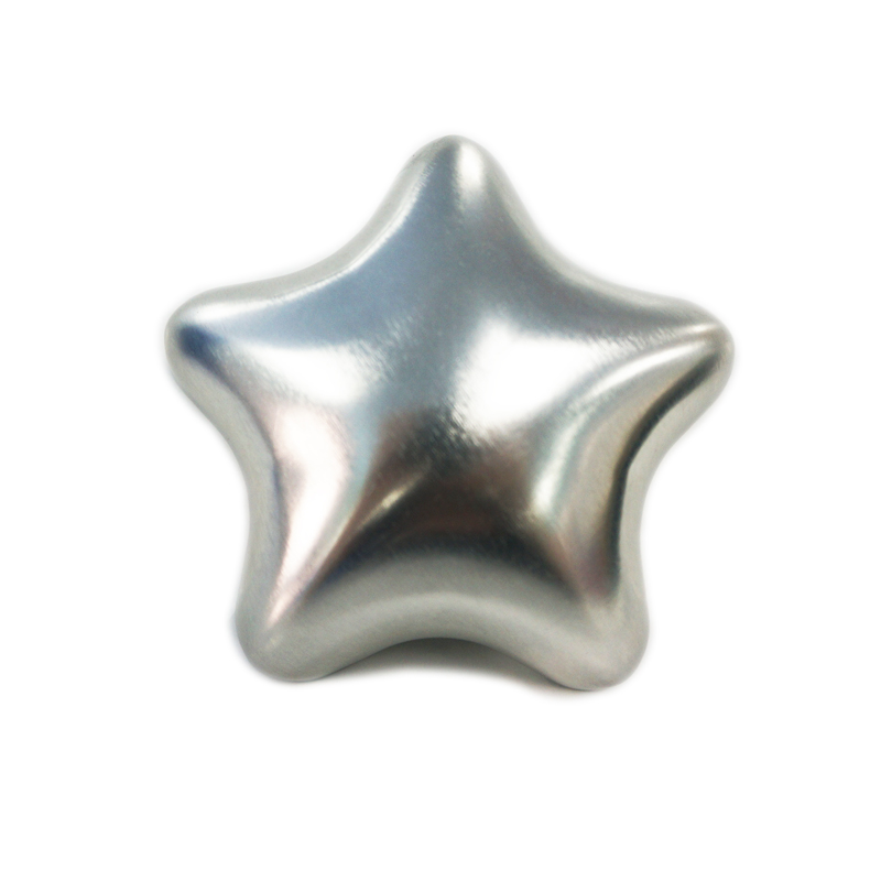 Fashionable Christmas Star Metal tin