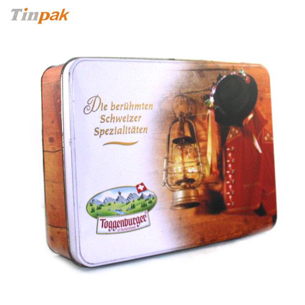 Swiss Biscuit Tin box