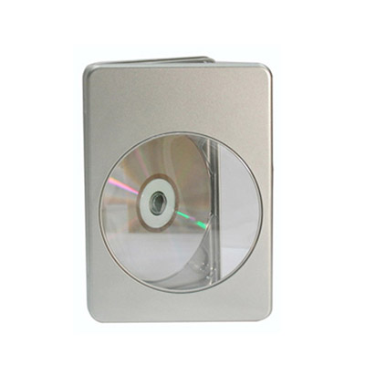 DVD tin with window