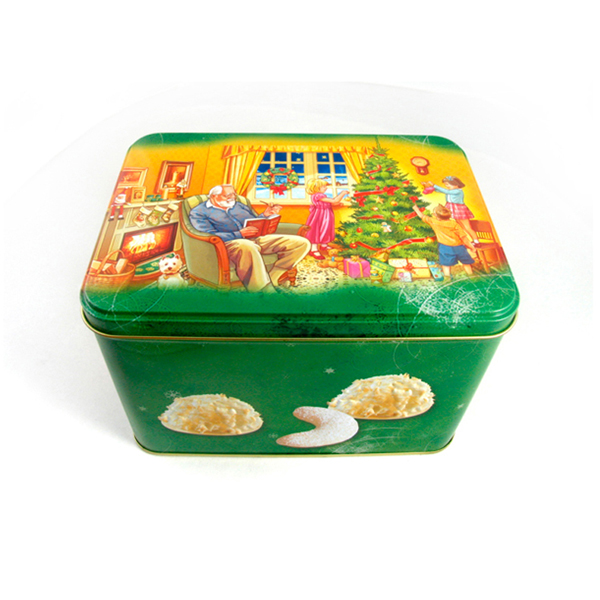 large cake tin box