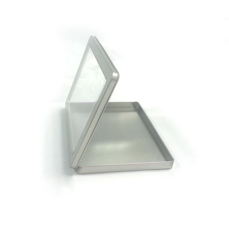 A6 size tin box for card