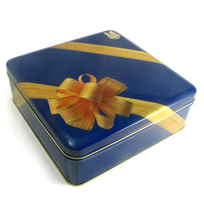 Valentine's chocolate tin box