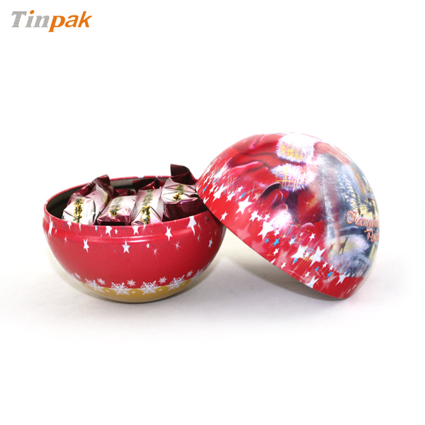 Christmass Ball Tin Dia.102mm
