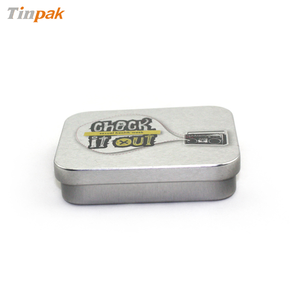 mini rectangular tin box