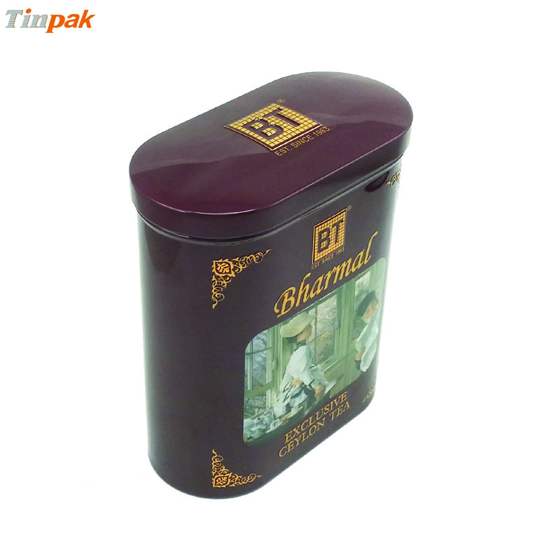 metal tea canister wholesale