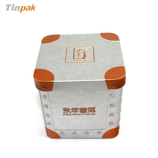 custom cube tin boxes