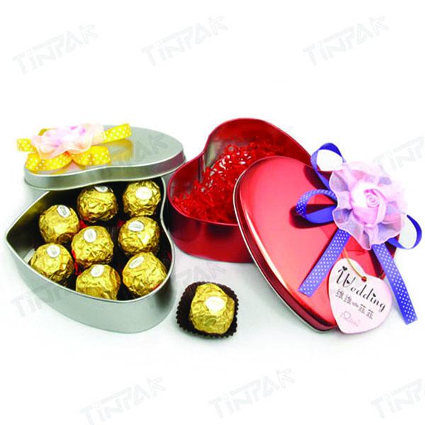 valentine's gift tin boxes