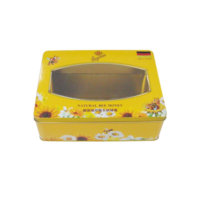 Gift tin boxes for honey