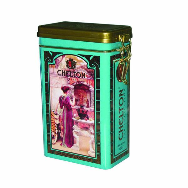 airtight tea tin can
