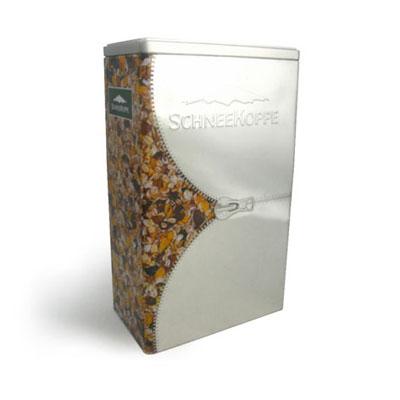 metal coffee storage tin packaging box
