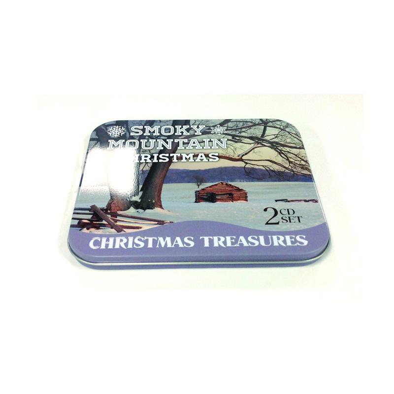 fantastic rectangular CD tin case with insert