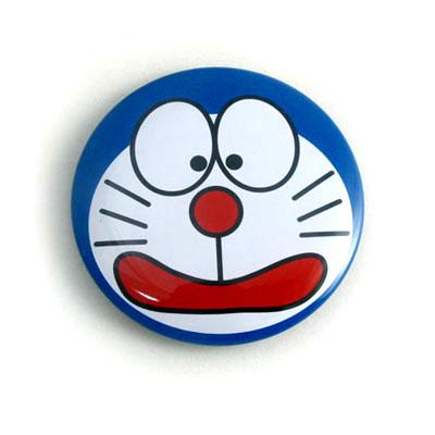 small cute cartoon printed tin badge