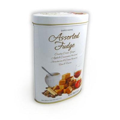 Oval Mint Tea Tin Box Supplier