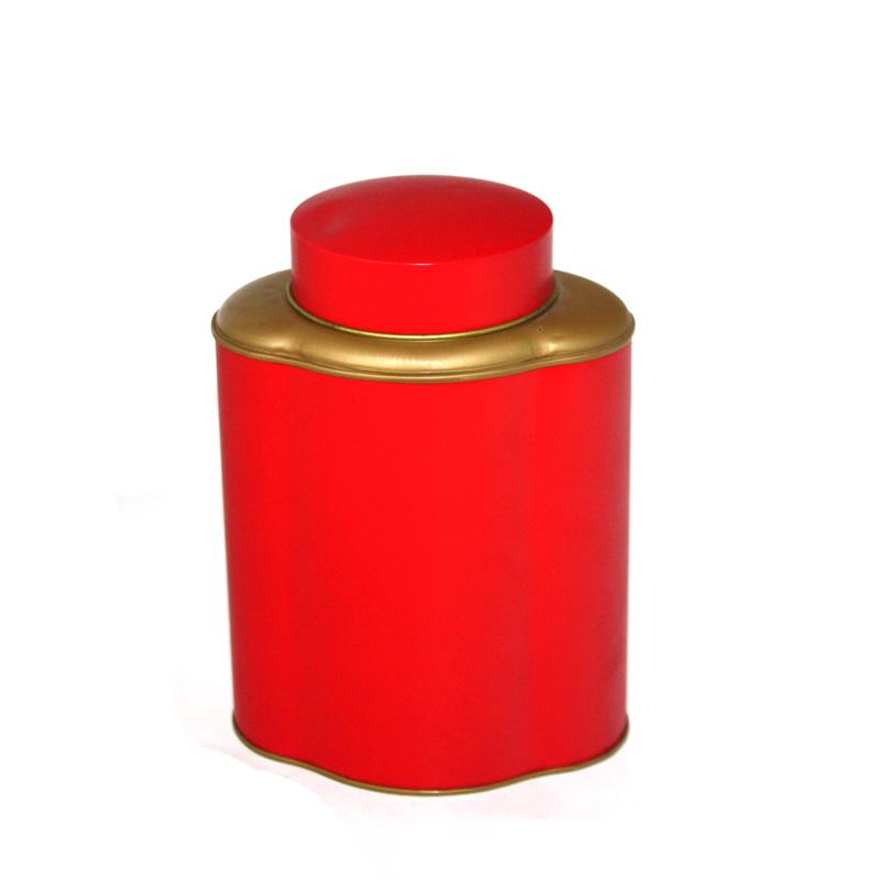 high quality ceylon tea tin with inner lid