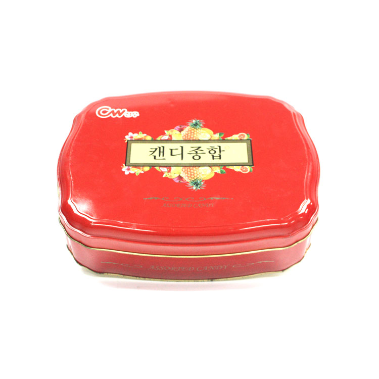 custom Korean candy tin wholesale