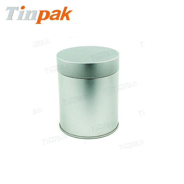 Round Airtight Ceylon Tea Tin