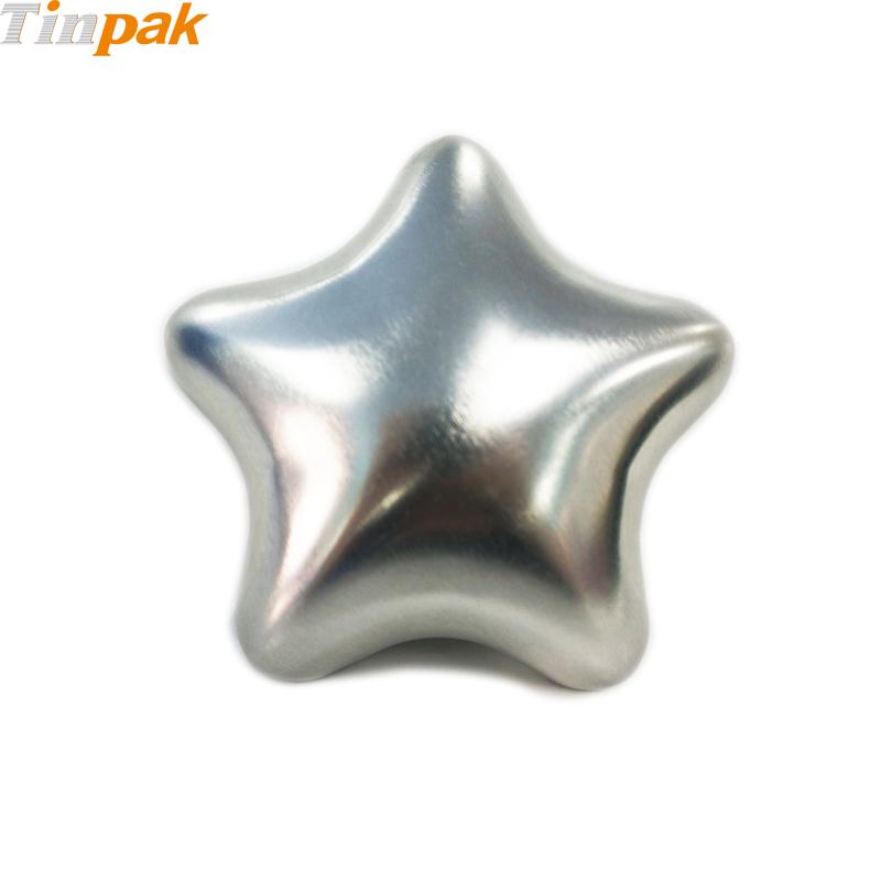 Custom Christmas Star Tin