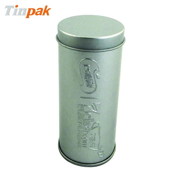 Round Spice Tin with Emboss and Sifter