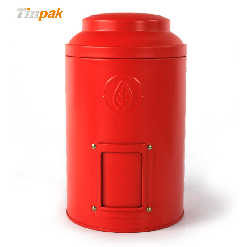 Round Air-proof Tea Tin Canisters Wholesale