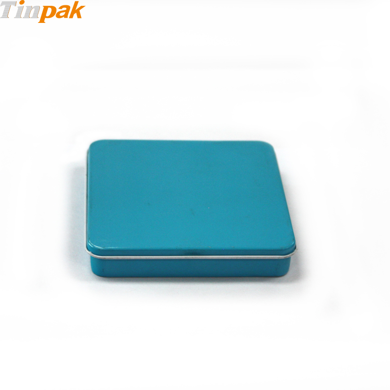 hinged small cigarette tin box Dongguan