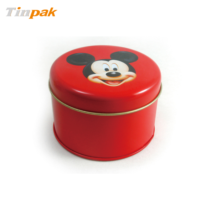 Wholesale Special Round Tin with Slip Lid