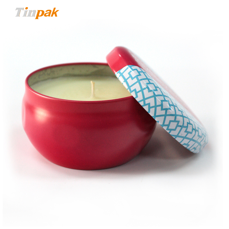 small fancy candle tin containers factory