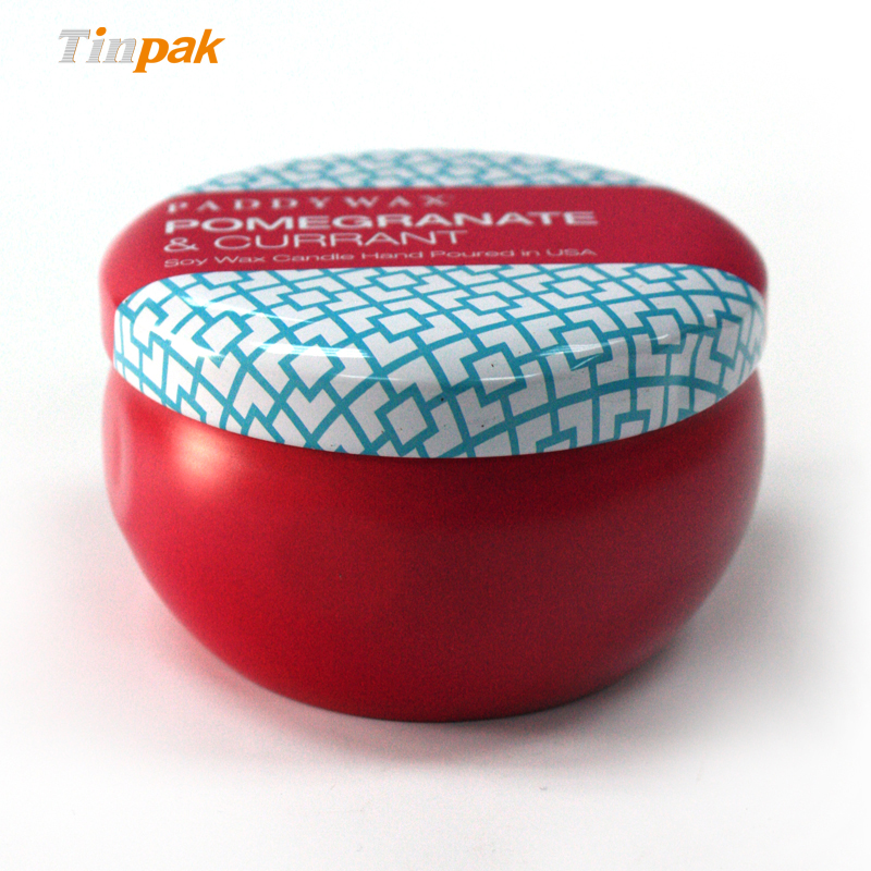 Cheap Metal Candle Tin Containers Wholesale