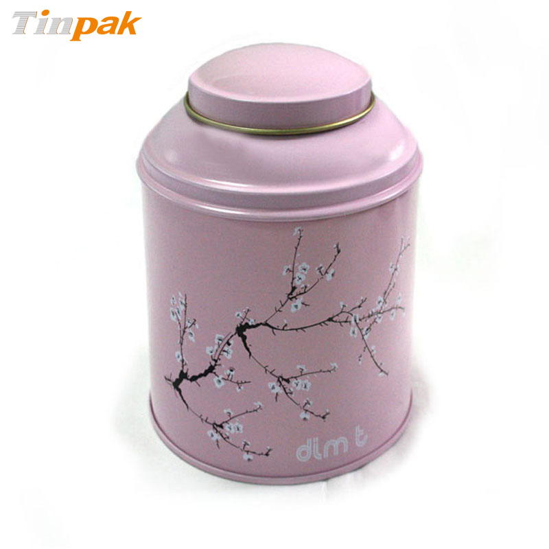Wholesale round metal coffee containers