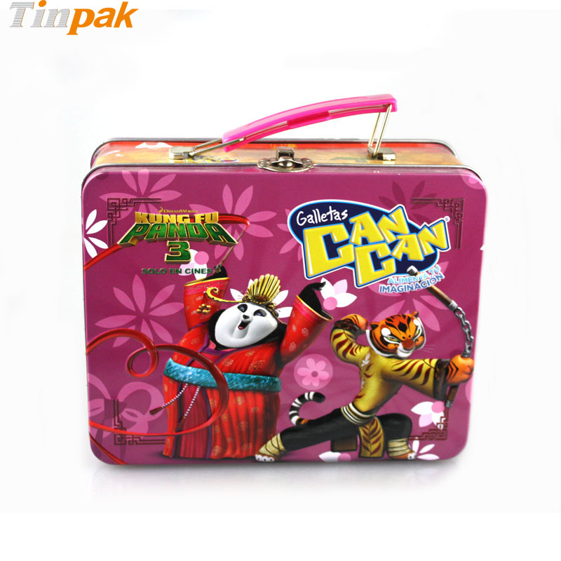 Kung Fu Panda Lunch Tin Boxes for Galletas Can Can