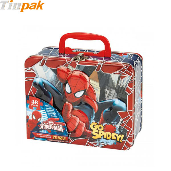 Spider-Man Puzzle Tins with Handle