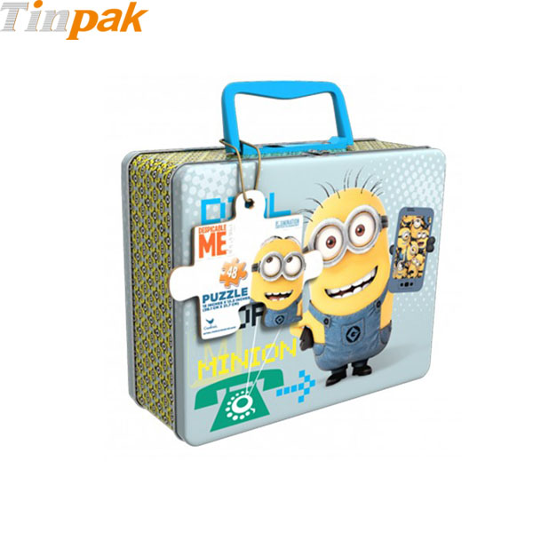 Despicable Me Minions Tin Puzzle Box for Sale