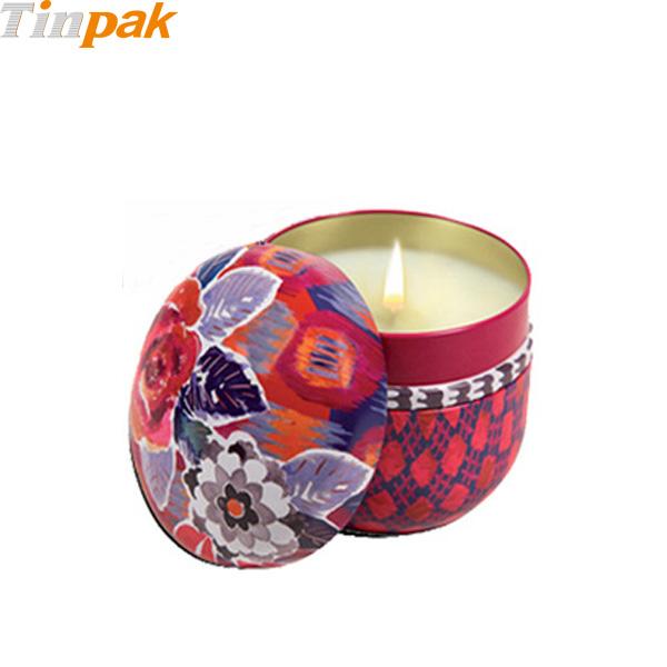 8oz Small Candle Tin for Fragonard