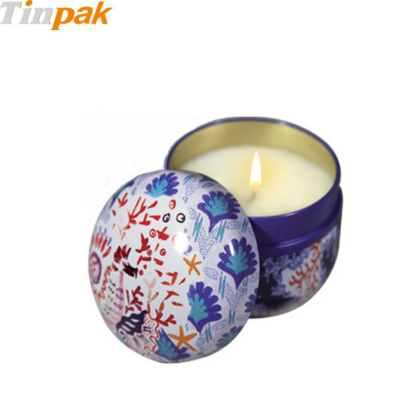 Fragonard Metal Candle Tins Wholesale