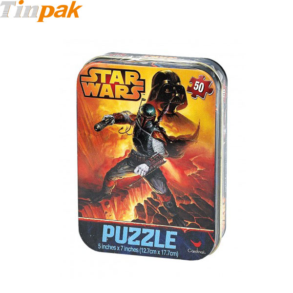 Star Wars Mini Travel Puzzle Tin