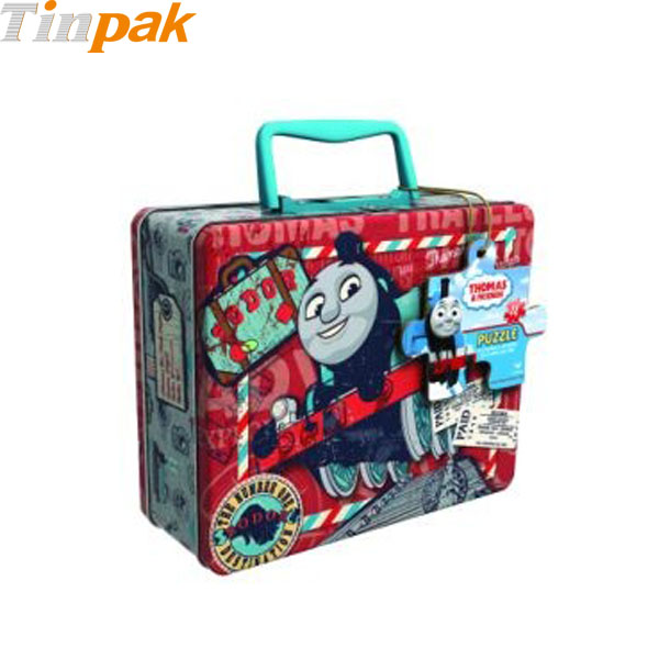 Thomas & Friends Puzzle Tin with Handle