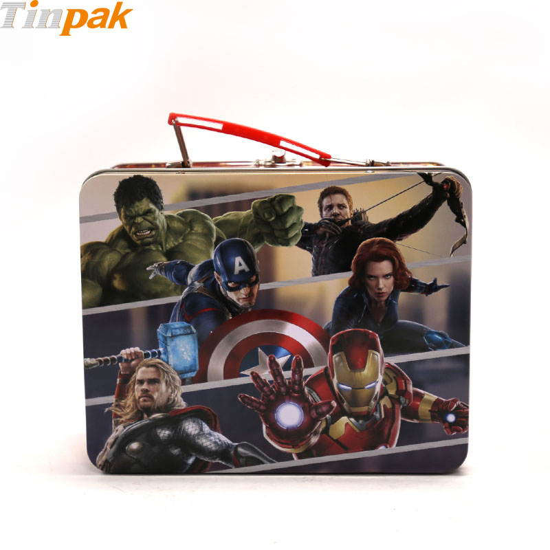 Marvel Avengers Metal Tin Lunch Box