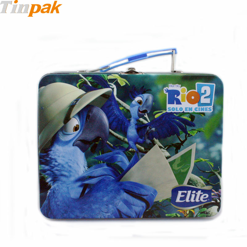 Personalized Children's Tin Lunch Boxes