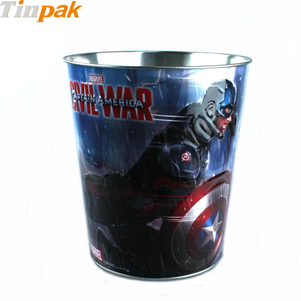 Marvel Captain America Popcorn Tin