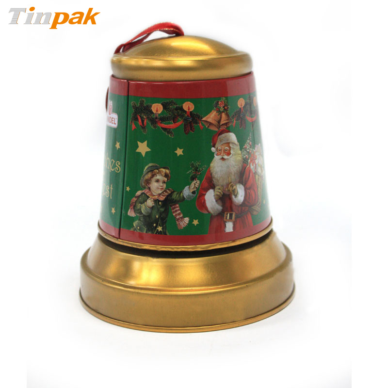 Christmas Jingle Bell Tins for Candy