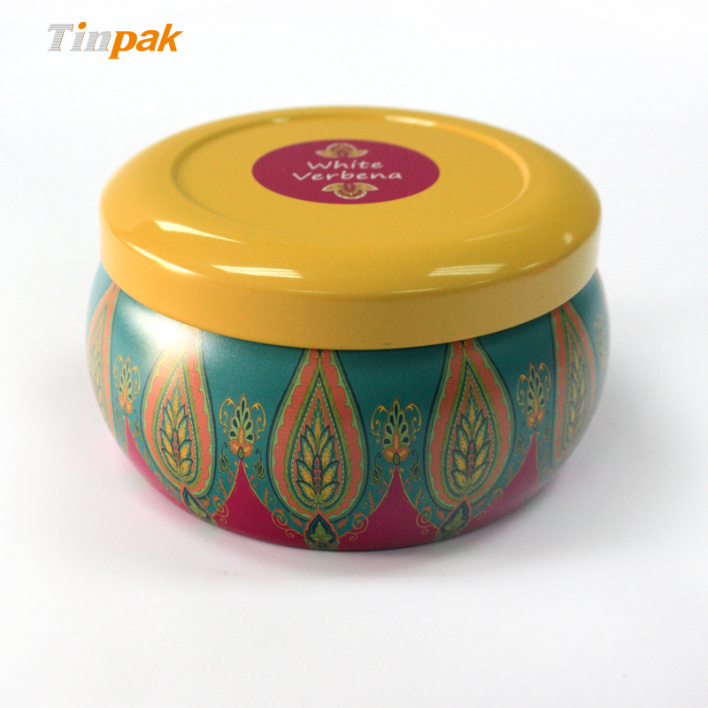 Custom Scented Tin Candle Box Wholesale for Sale