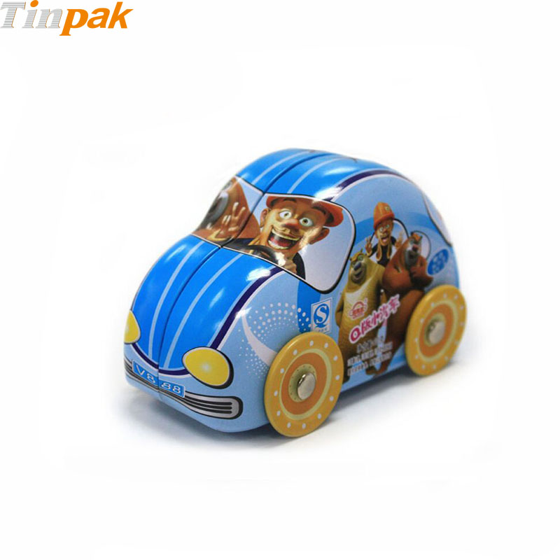 Fancy custom car shaped metal boxes for sale
