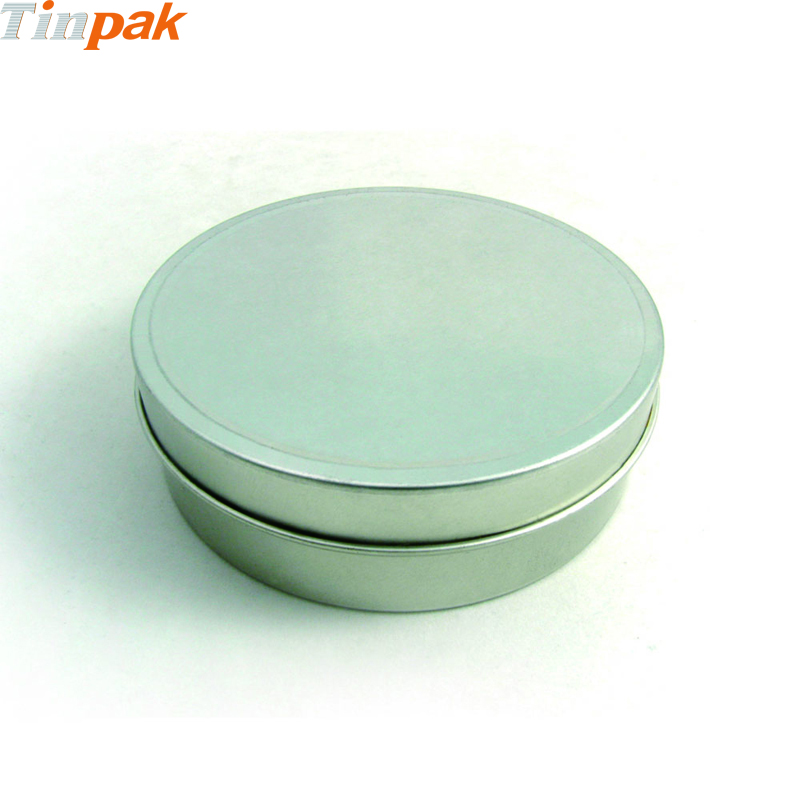 Seamless Round Chocolate Metal Package Box