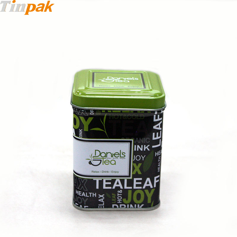 Sets of Square Tea Tin Canisters for Sale